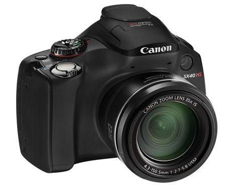 Canon SX 40HS Zoom camera