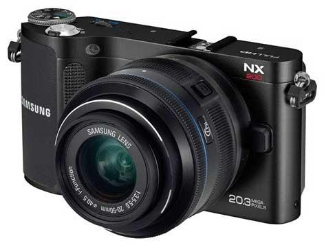 Samung NX 200 Compact=