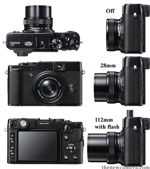 fujifilm x10 announced new camera. Black Bedroom Furniture Sets. Home Design Ideas