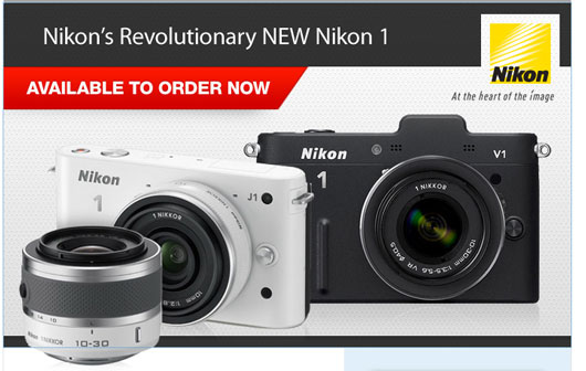 Nikon J1 available for pre order at adorama