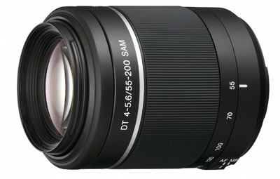 Sony 55-250mm Zoom Lens for Sony A77
