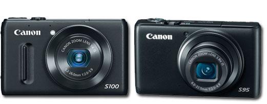 canon S100 comparison review