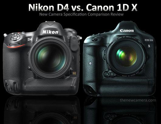 Nikon D4 Comparison review