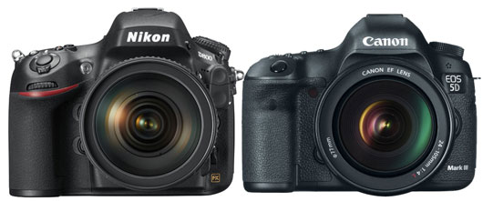 Canon 5D mark III vs Nikon D800