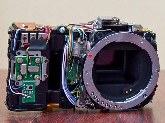 Pentax K-01 Front