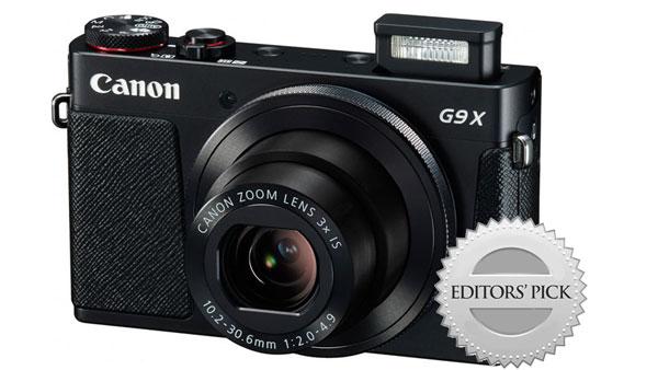 Canon G9X travel camera image