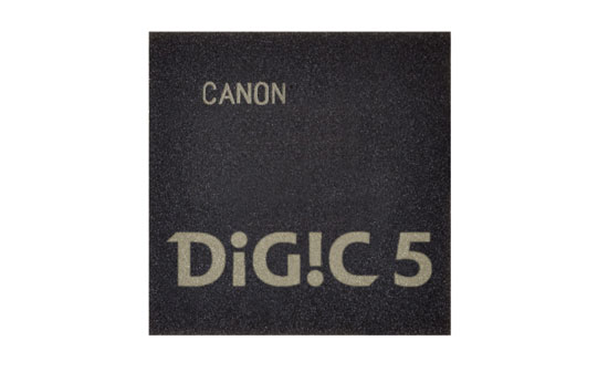 Canon DIGIC 5 image processor