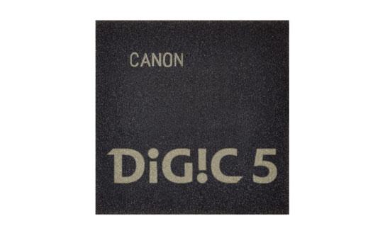 Canon DIGIC 5 image processor