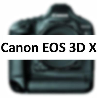 Canon EOS 3DX