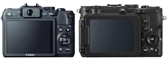 Canon G15 vs Nikon P7700