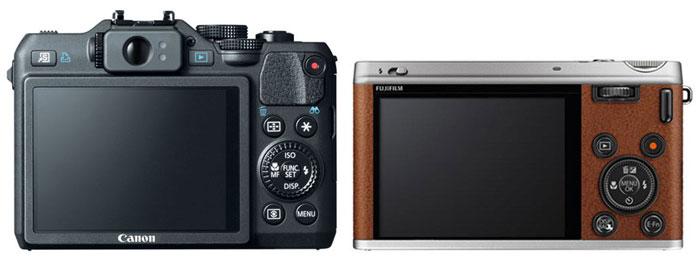 Canon G15 vs Fuji XF1