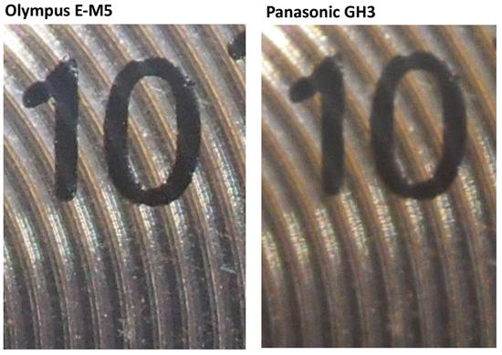 Olympus E M5 vs Panasonic GH3