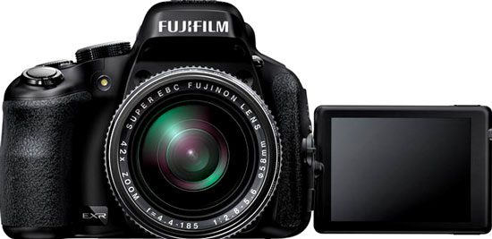 fuji hs50exr is a new megazoom camera from fujifilm the