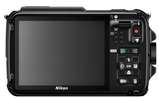 Nikon AW110 Back