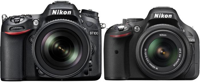 Nikon D7100 vs Nikon D5200