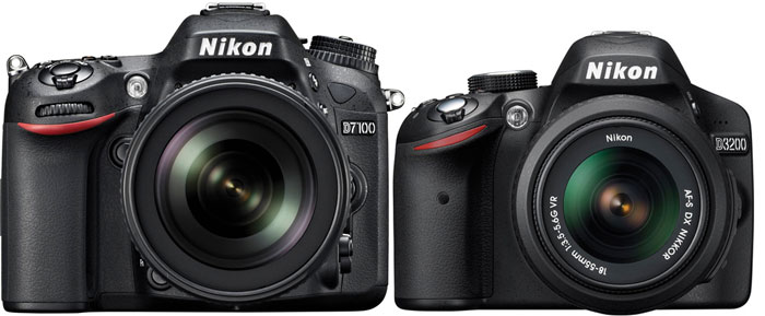 Nikon D7100 vs Nikon D3200