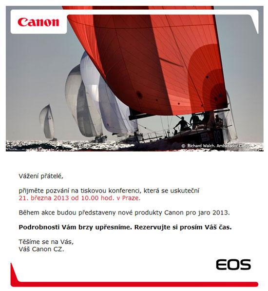 Canon 70D Press invite