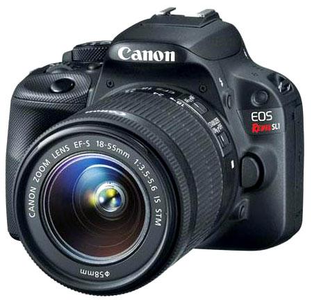 Canon SL1 Side