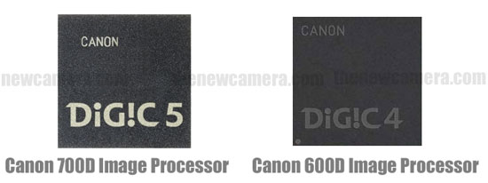 Image Processor 600D vs 700D