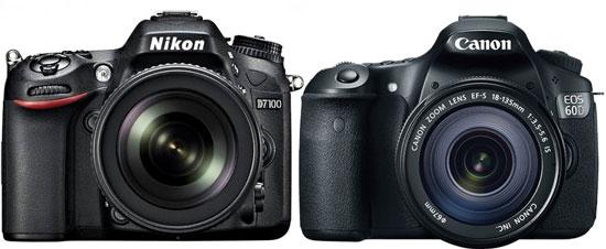 Nikon D7100 vs Canon 60D