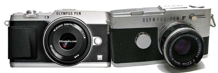 Olympus PEN E-P5 (2013) vs Olympus PEN F (1960)
