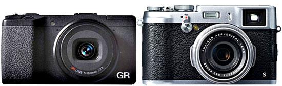 Ricoh GR vs Fuji X100S