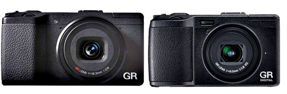 Ricoh GR vs Ricoh GR Digital IV