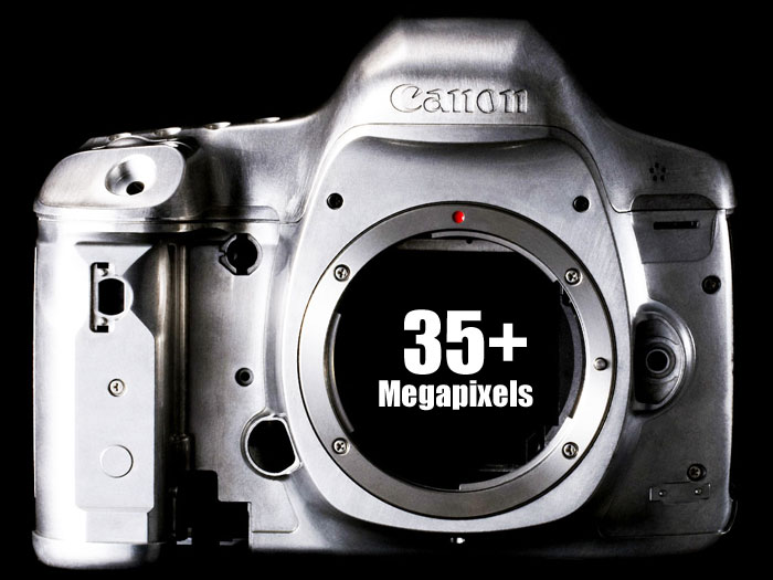 Canon 35+ Megapixel DSLR Coming on 2014