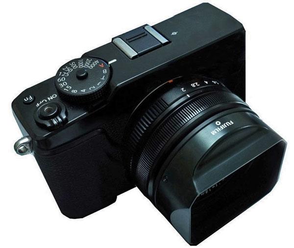 Photoshopped image - Fujifilm X-M1