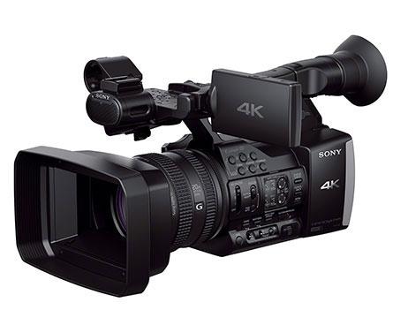 Sony-4K-camcorder