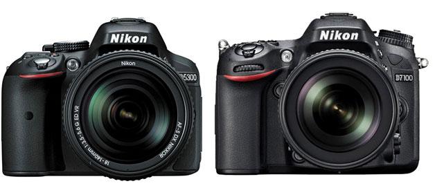 Nikon-D5300-vs-Nikon-D7100
