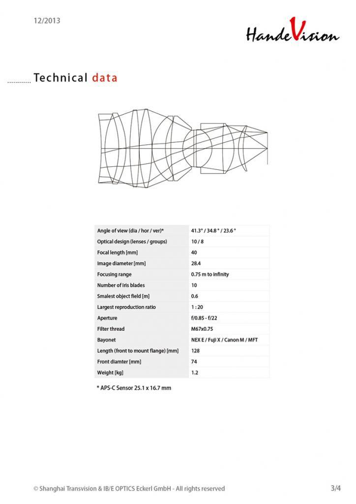 Lens-Tech-Data