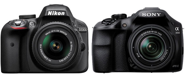 Nikon-D3300-vs-A3000