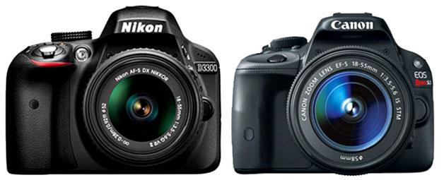 Nikon-D3300-vs-Canon-SL1-im