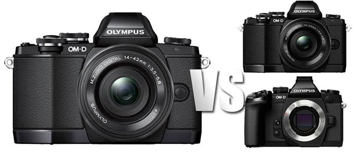 Olympus-E-M10-vs-E-M5-vs-E-
