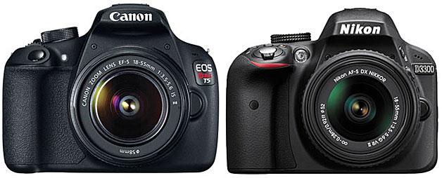 Canon-1200D-vs-D3300