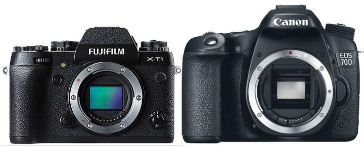 Canon-70D-vs-Fujifilm-X-T1-