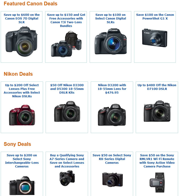 Canon-Nikon-and-Sony-Deals
