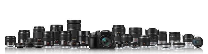 Panasonic-GH4-with-lenses