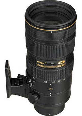 Buy Nikon 70 200mm F2 8 ED VR II Lens From Amazon B H