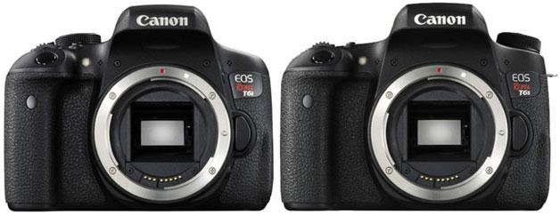 Canon 750D vs. Canon 760D 1