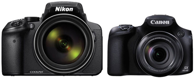 Nikon COOLPIX P900 vs. Canon Power Shot SX60 HS  1
