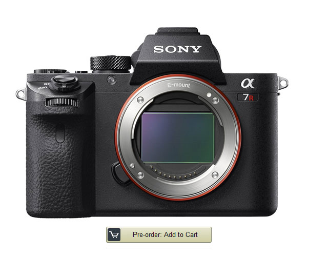 Pre order sony a7r ii new camera for New camera 2015