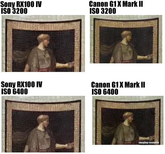 Sony Cyber-shot DSC-RX100 IV vs. Canon PowerShot G1 X Mark II 5