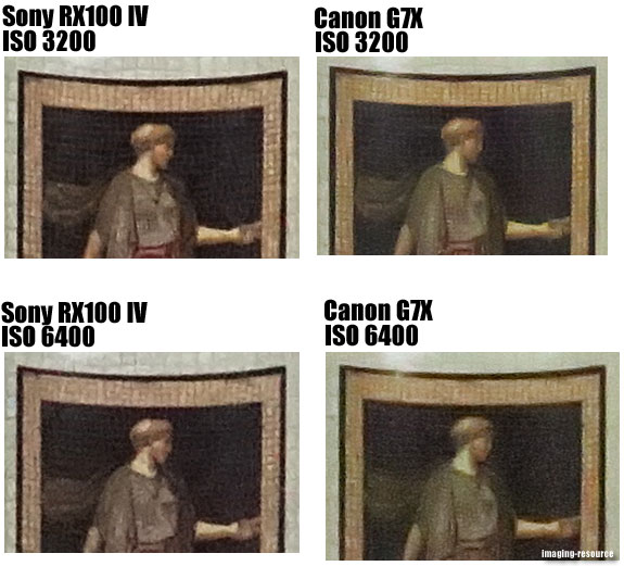 Sony Cyber-shot DSC-RX100 IV vs. Canon PowerShot G7 X  5
