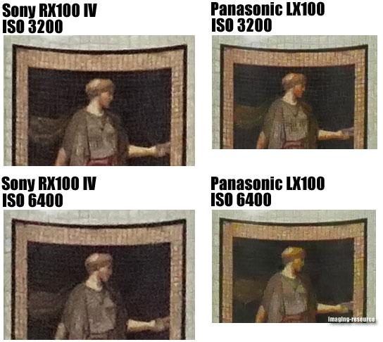 Sony Cyber-shot DSC-RX100 IV vs. Panasonic Lumix DMC-LX100 5