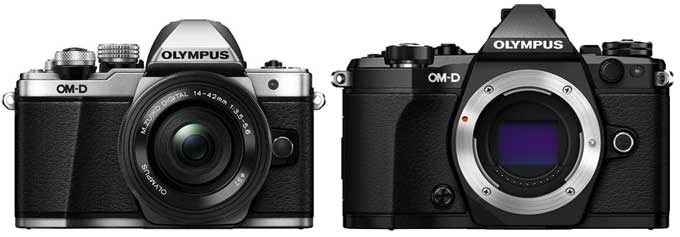 Olympus OM-D E-M10 II vs. Olympus OM-D E-M5 II 1