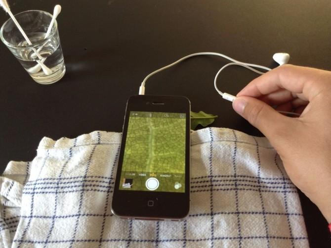 smartphone macro 2