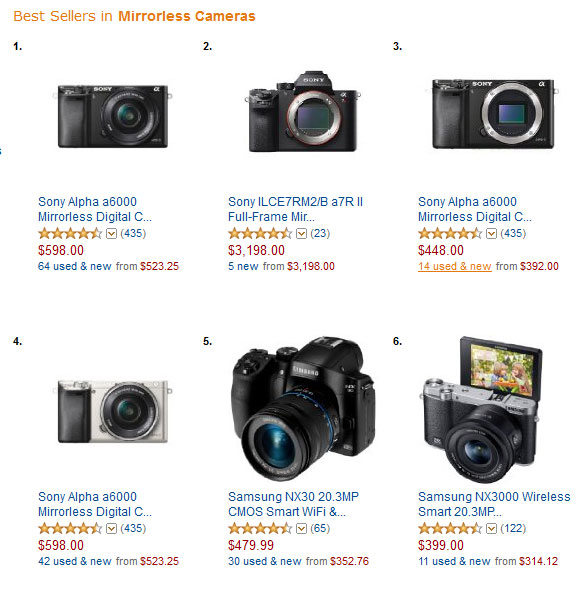 best-sellers-in-mirrorless