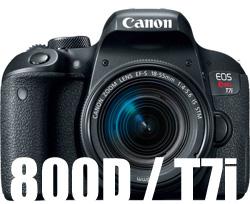 Canon 800D T7i lenses